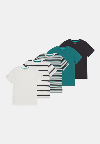 5 PACK - T-shirt con stampa - multi-coloured