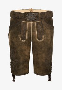 Spieth & Wensky - FC BAYERN HAVEL - Leather trousers - brown - 0