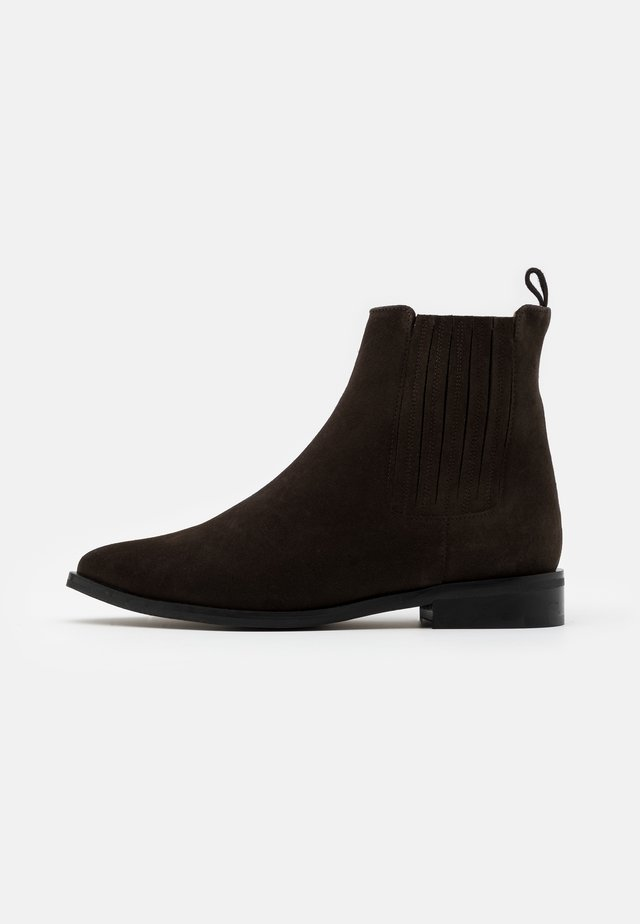 OXYA SUSTAINABLE - Støvletter - dark brown
