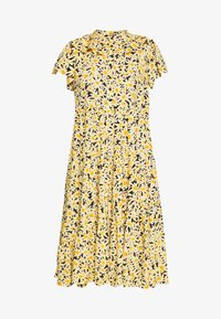 Topshop Petite - DAISY GRANDAD  - Shirt dress - yellow - 3