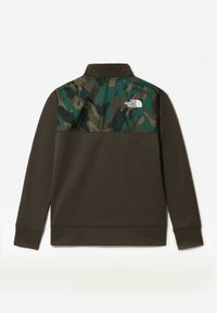 The North Face - B SURGENT 1/4 ZIP - Sweatshirt - new taupe green - 1