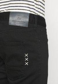Scotch & Soda - SKIM - Slim fit jeans - stay black - 4