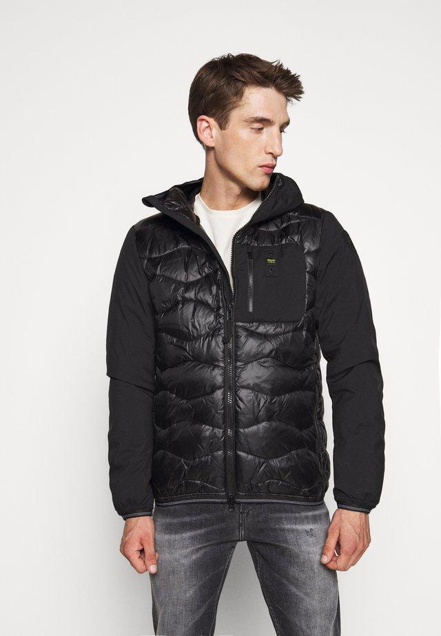 GIUBBINI CORTI IMBOTTITO PIU - Down jacket - black