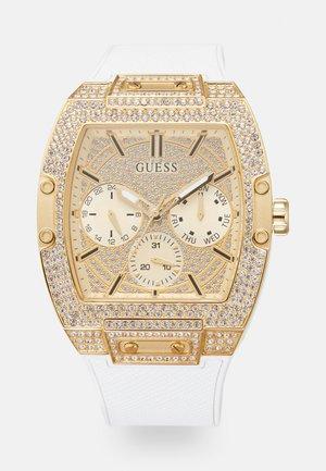 ZALANDO EXCLUSIVE PHOENIX - Reloj - white/gold-coloured/crystal