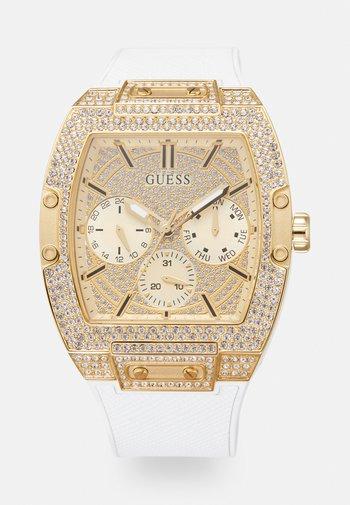 ZALANDO EXCLUSIVE PHOENIX - Watch - white/gold-coloured/crystal