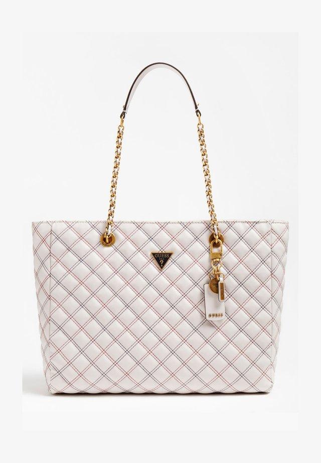 Handtasche - mehrfarbig, weiß