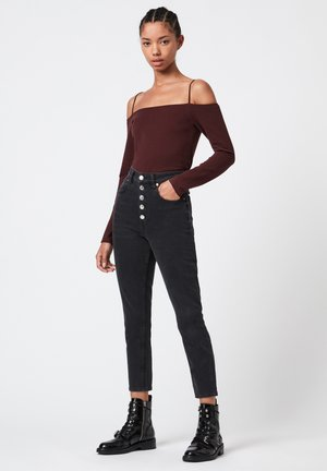 AUDERY  - Long sleeved top - red
