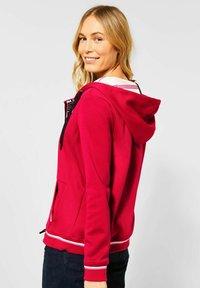 Cecil - Zip-up hoodie - rot - 0