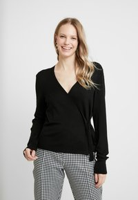 Esprit Collection - CABLE - Cardigan - black - 0
