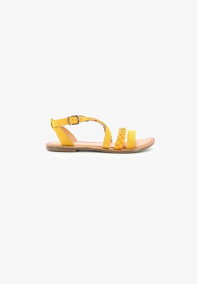 DIAPPO - Sandales - jaune