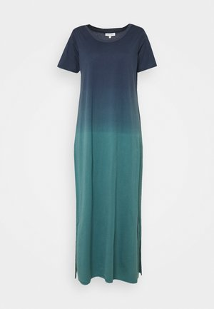 ELIANA DIP DYE DRESS - Maxi dress - navy