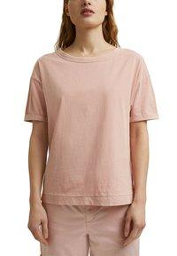 Esprit - Basic T-shirt - nude - 5