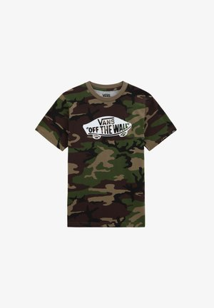 OTW  - Camiseta estampada - camo-white