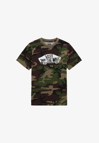 OTW  - Print T-shirt - camo-white