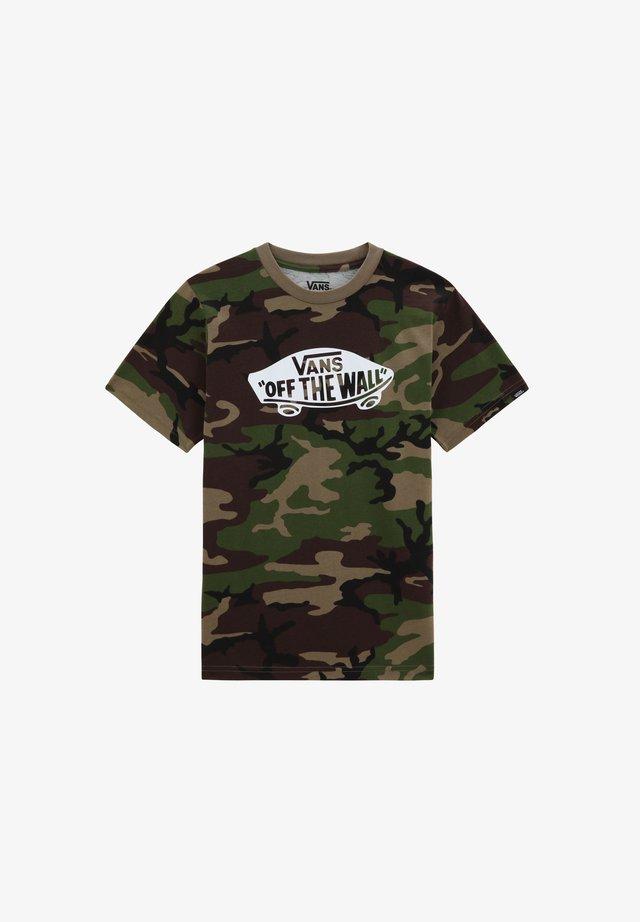 OTW  - T-shirt print - camo-white