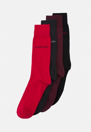 CREW FLAT GIFTBOX PALMER 4 PACK - Socks - tawny combo
