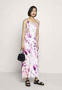 Bardot - TIE DYE SLIP DRESS - Maxi dress - purple - 1