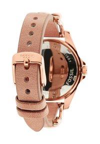 Fossil - RILEY - Horloge - rosegold-coloured/light brown - 3