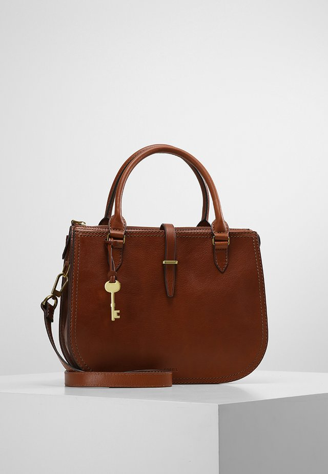 Handbag - medium brown