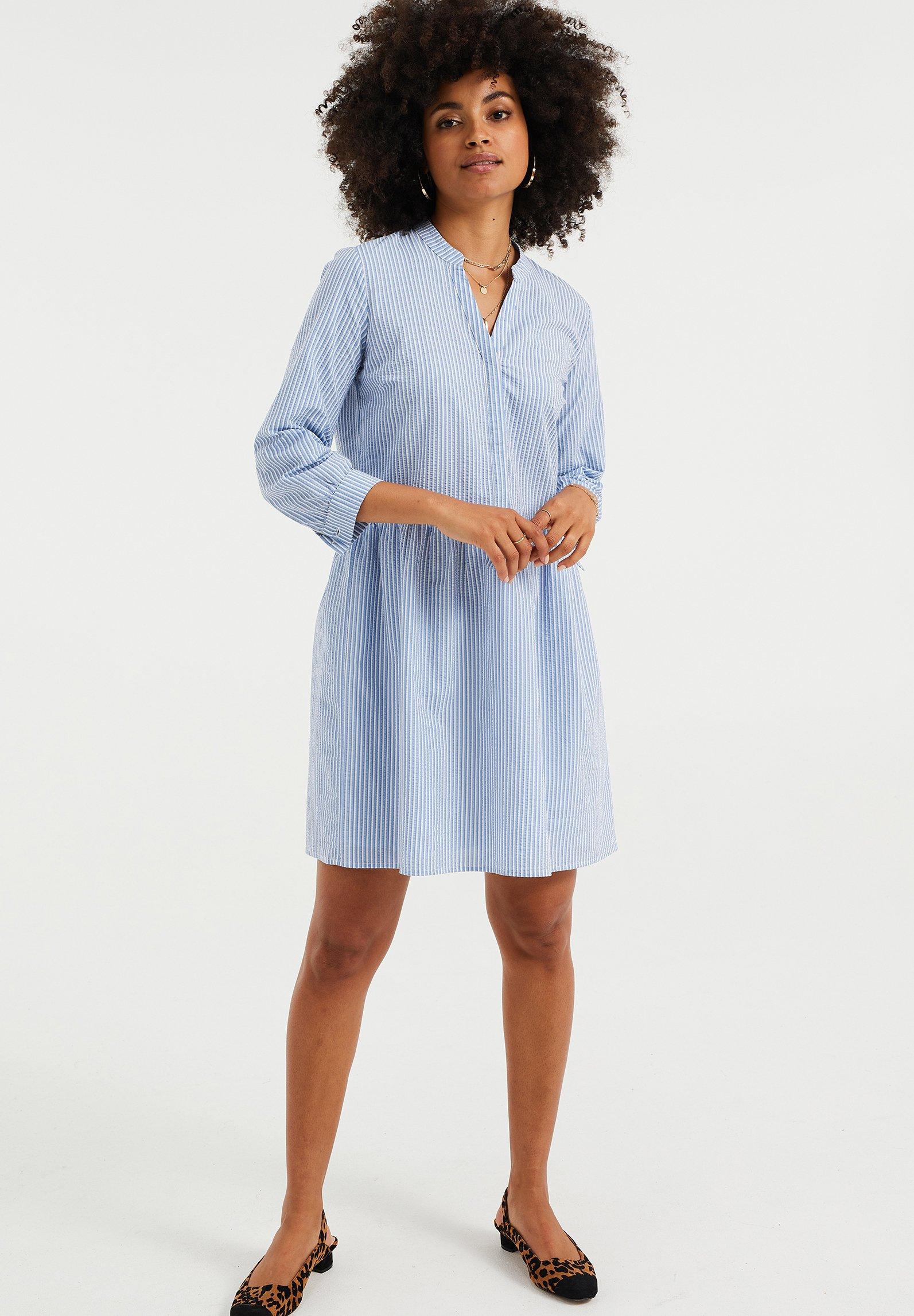 Mujer MET STRUCTUUR - Vestido camisero