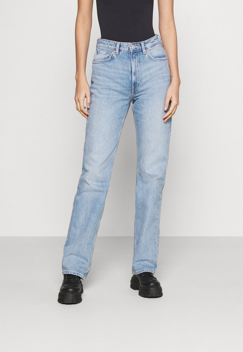 Weekday - VOYAGE - Jeans Straight Leg - verona blue