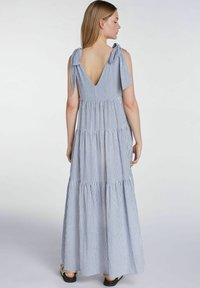 SET - Maxi dress - blue white - 2