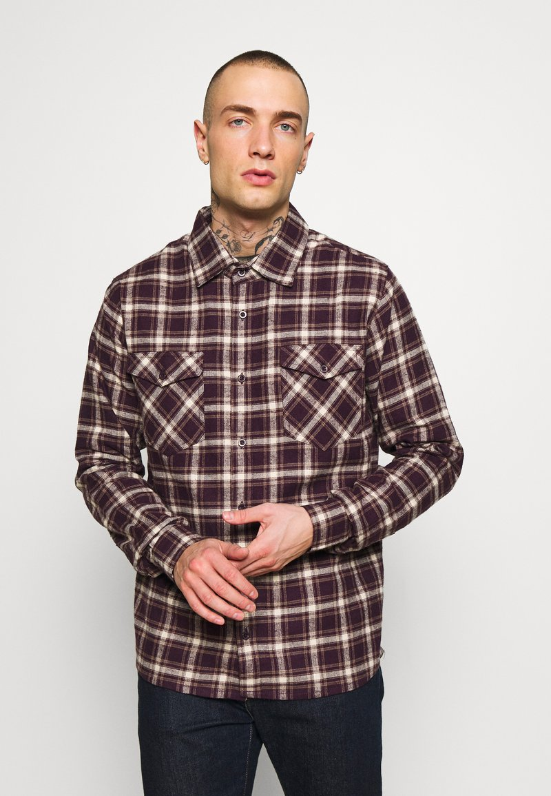 Afends - LONG SLEEVE - Shirt - mulberry