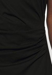 DESIGNERS REMIX - MODENA PLEAT DRESS - Shift dress - black - 5