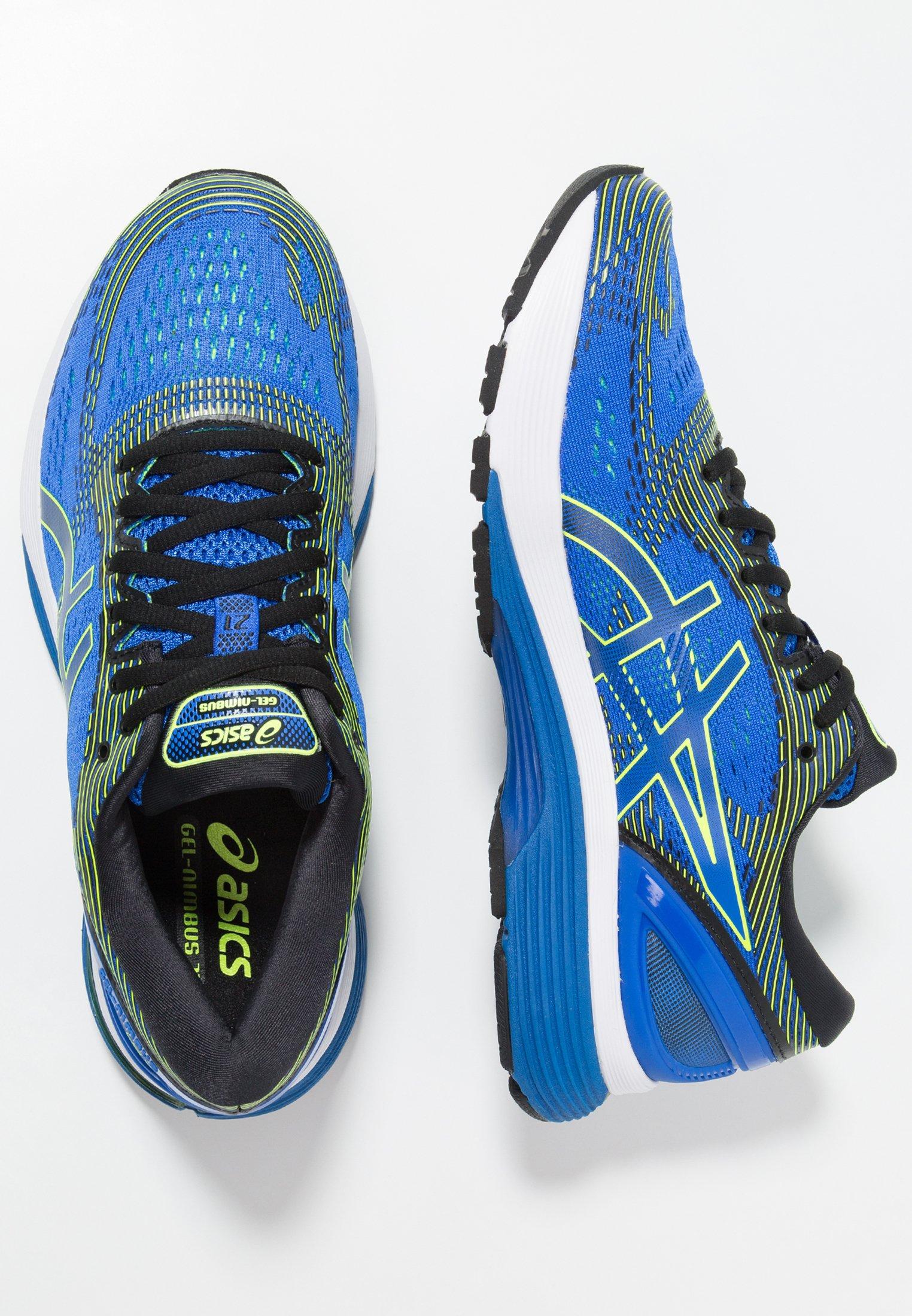 GEL-NIMBUS 21 - Zapatillas de running neutras - illusion blue/black