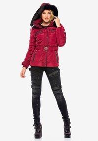 Cipo & Baxx - Winter jacket - burgundy - 1