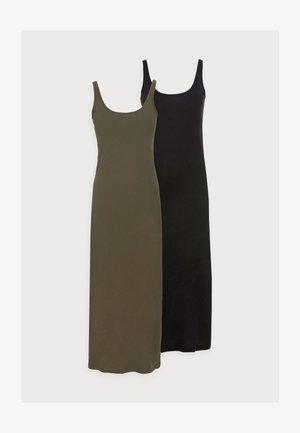 VMNANNA ANCLE DRESS PETITE 2 PACK - Maxi dress - ivy green/black