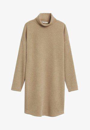 MAXIME7 - Robe pull - gris vison