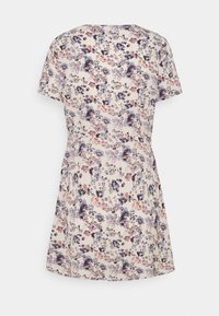 Missguided Petite - BUTTON THROUGH TEA DRESS - Jurk - lilac - 1