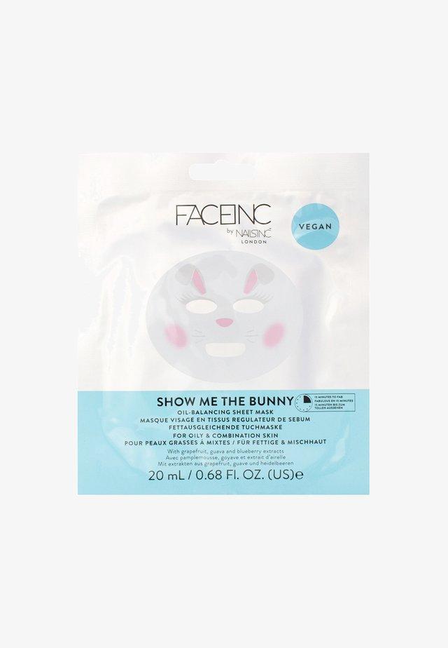 FACE INC UNICORN ILLUMINATING SHEET MASK 20ML - Masque visage - 9621 neutral