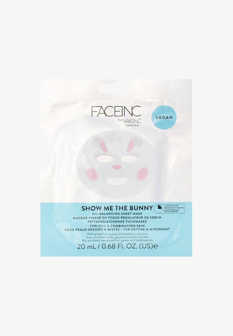 INC.redible - FACE INC UNICORN ILLUMINATING SHEET MASK 20ML - Gesichtsmaske - 9621 neutral