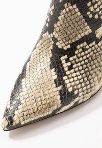 ALDO - AMILMATHIEN - High heeled ankle boots - natural - 2