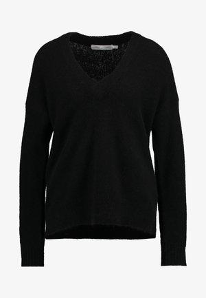 PAPINAIW VNECK - Jumper - black