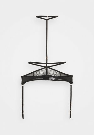 ENYA SUSPENDER HARNESS  - Jarretels - black