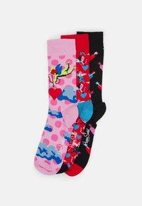 Happy Socks - I LOVE YOU SOCKS GIFT 3 PACK - Socks - multi-coloured - 0