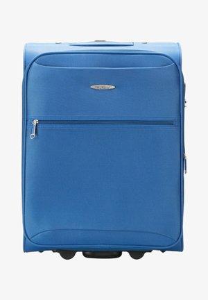 Wheeled suitcase - blue