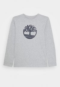 Timberland - LONG SLEEVE - Long sleeved top - chine grey - 0