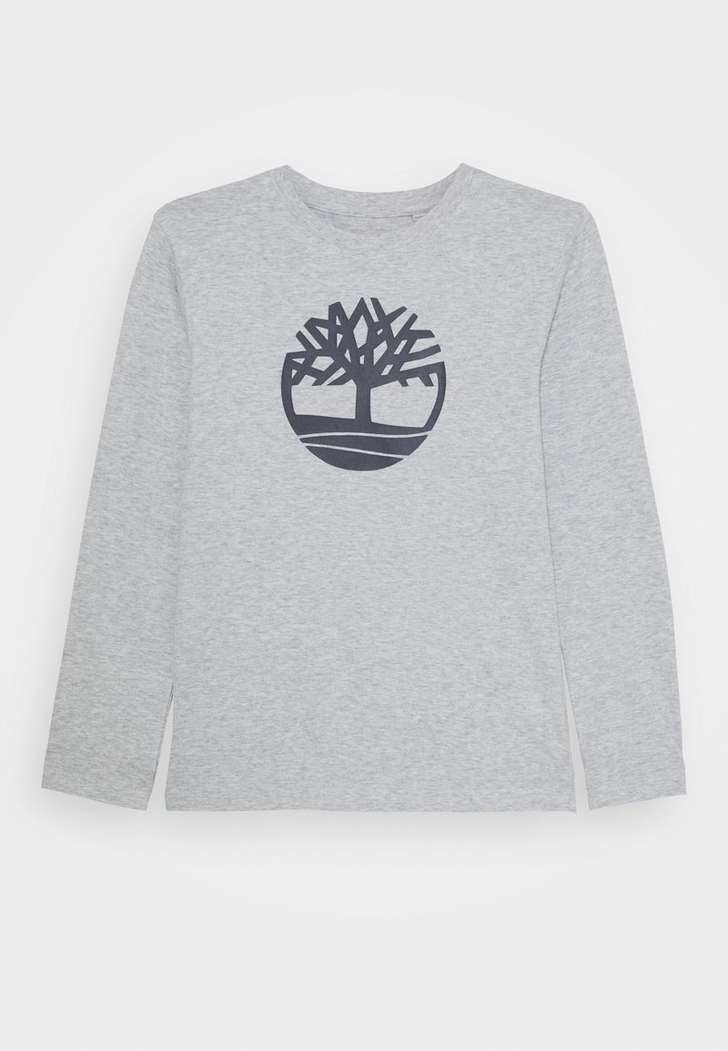 Timberland - LONG SLEEVE - Long sleeved top - chine grey