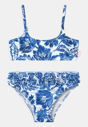 SHIRRED - Bikini - marina blue