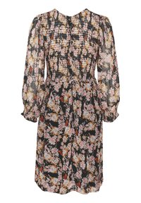 Part Two - Day dress - winter rose print black - 4