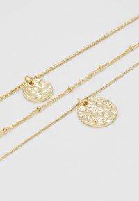 Pieces - PCZENDIA COMBI NECKLACE KEY - Necklace - gold-coloured - 2
