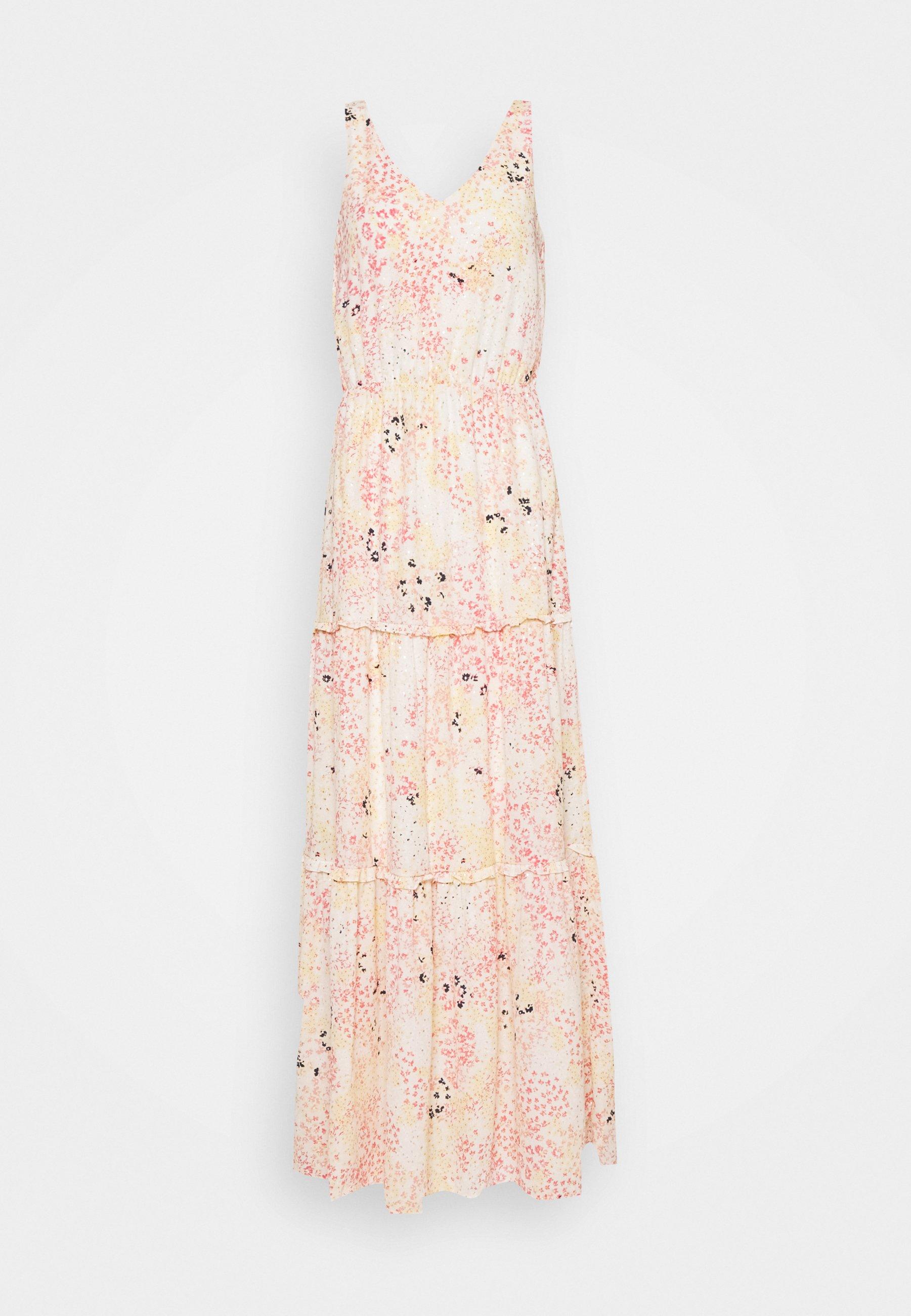 Women VMHANNAH FOIL ANKLE DRESS - Maxi dress