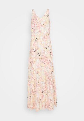 VMHANNAH FOIL ANKLE DRESS - Maxi dress - birch