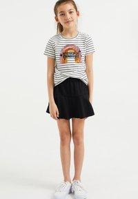 WE Fashion - A-lijn rok - black - 0