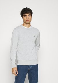 Lacoste - Stickad tröja - argent chine - 0