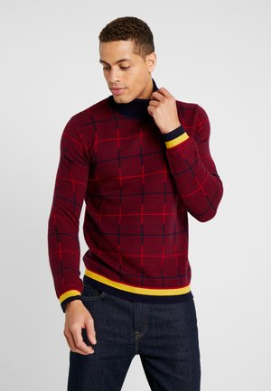 LANGARM - Jumper - dark red